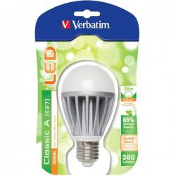 Lâmpada Verbatim LED 6W - E27 - 3000k - 130º