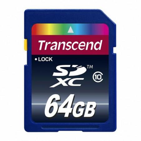 Cartão Transcend SDXC 64 Gb...