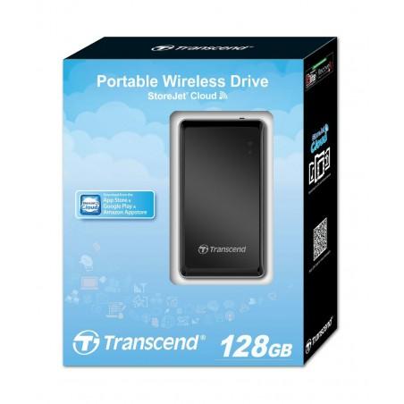 Disco externo Transcend - Storejet 128Gb Sem fios