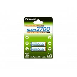 Pilha Panasonic Recarregavel Ni-MH 2700mAh BL2