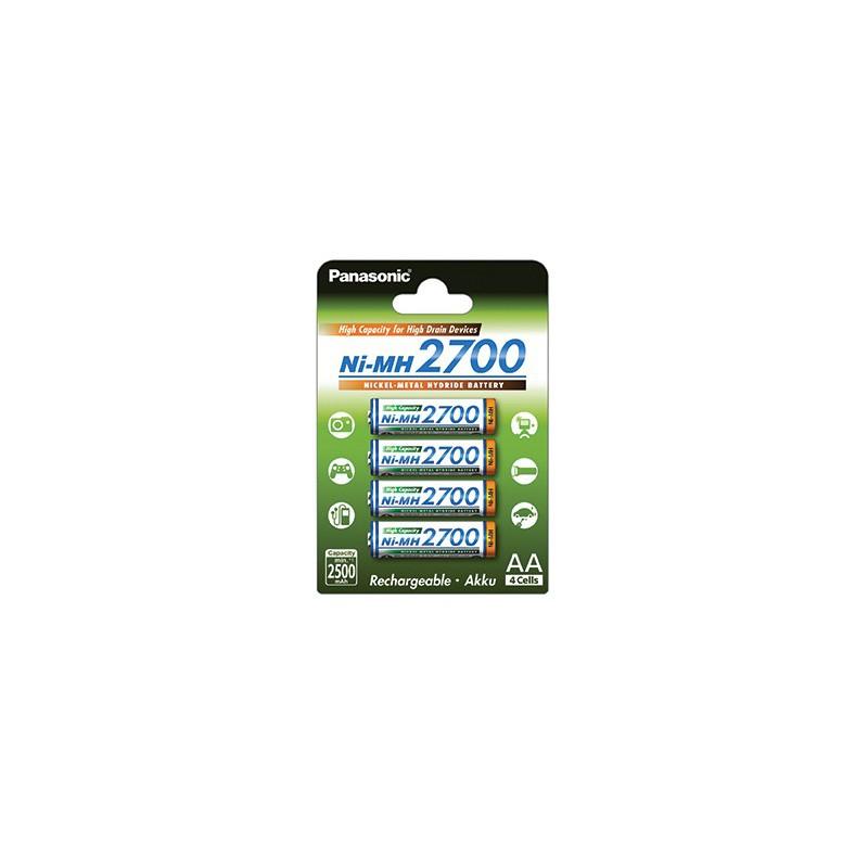 Pilha Panasonic Recarregavel Ni-MH 2700mAh BL4