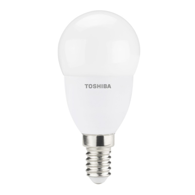 Lâmpada Toshiba LED E-CORE 4.5W - E14 - 2700k - Mini Globo