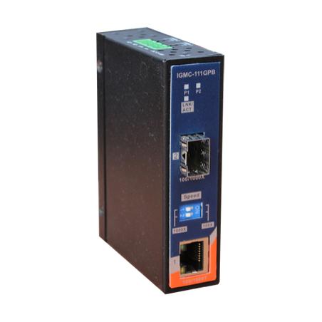 Conversor de Ethernet para Fibra Oring IGMC-111GPB