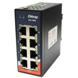 Switch Ethernet 8 portas 10/100Base-T(X) Oring IES-180B