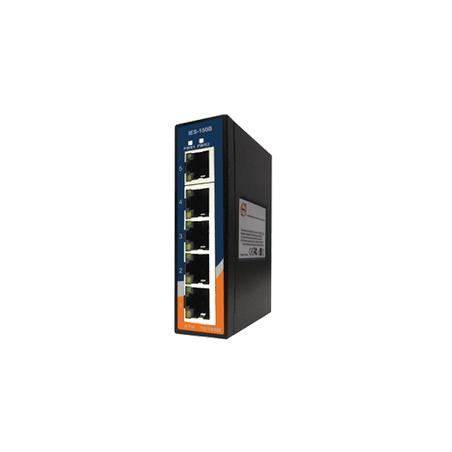 Switch Ethernet 5 portas 10/100Base-T(X) Oring IES-150B