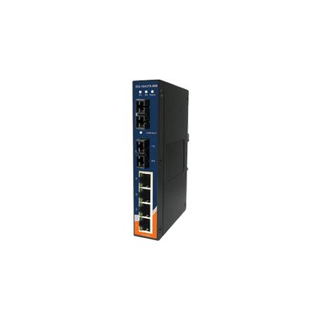 Switch Ethernet 6 portas (4x10/100Base-T(X) e 2x100Base-FX) Oring IES-1042FX