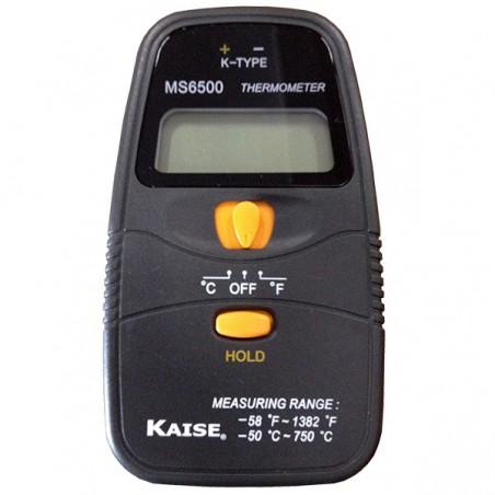 Termómetro tipo K - Kaise- MS6500