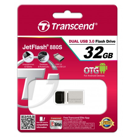Pen drive Transcend JetFlash 880 - 32 Gb