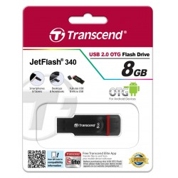 Pen drive Transcend JetFlash 340 - 8 Gb