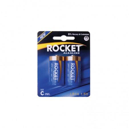 Pilha Rocket LR14R BL2