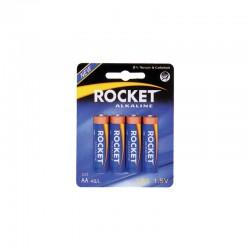 Pilha Rocket LR6BR BL4