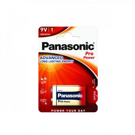 Pilha Panasonic Pro Power 6LR61 - 9V BL1