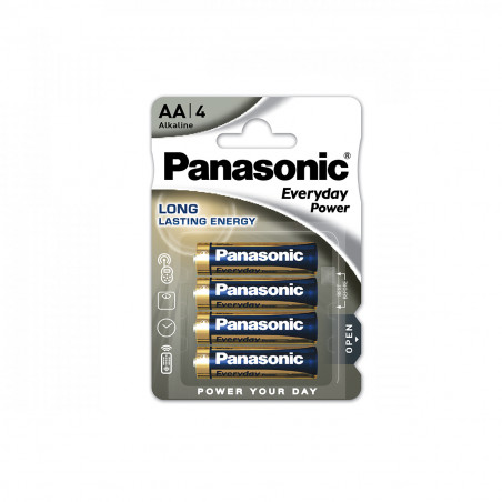Pilha Panasonic Everyday Power LR06 BL4