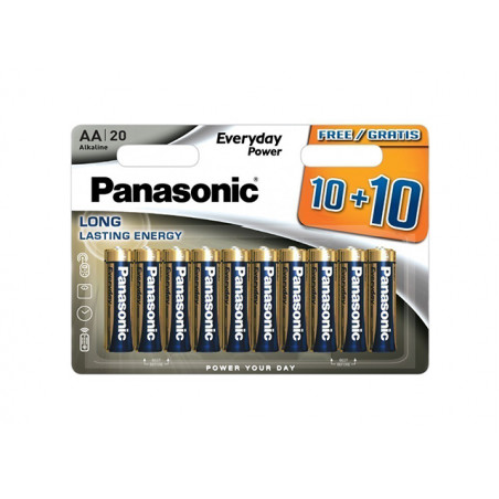 Pilha Panasonic Everyday Power LR06 BL20