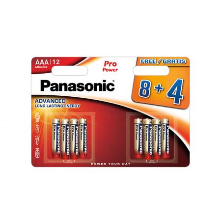 Pilha Panasonic Pro Power LR03 BL8+4