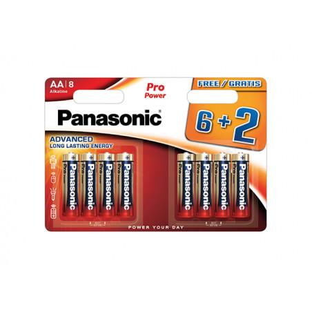 Pilha Panasonic Pro Power LR6 BL6+2