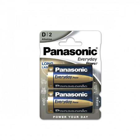 Pilha Panasonic Everyday Power LR20 BL2