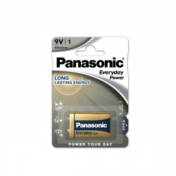 Pilha Panasonic Everyday Power 6LR61 - 9V BL1
