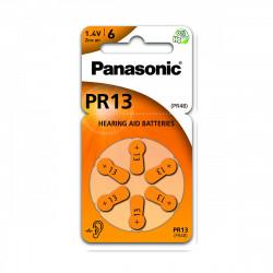 Pilha Panasonic Zinc Air PR13L - 1,4V BL6