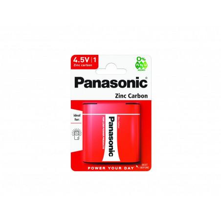 Pilha Panasonic Zinco Carvão 3R12 - 4,5V BL1