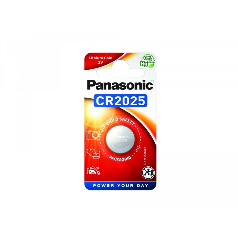 Pilha Panasonic Lítio Botão CR2025 BL1