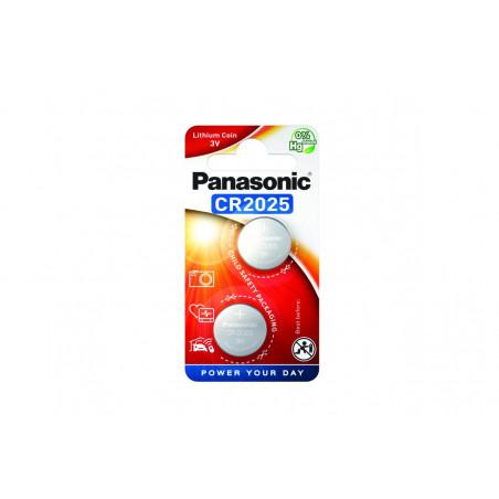 Pilha Panasonic Lítio Botão CR2025 BL2