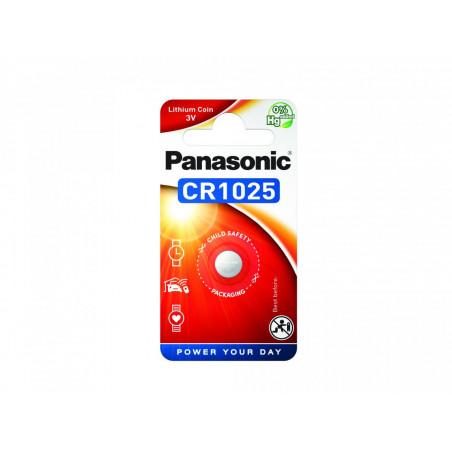 Pilha Panasonic Lítio Botão CR1025 BL1