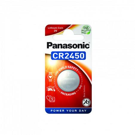 Pilha Panasonic Lítio Botão CR2450 BL1