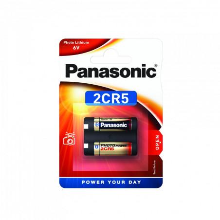 Pilha Panasonic Lítio Foto 2CR5 - 6V BL1