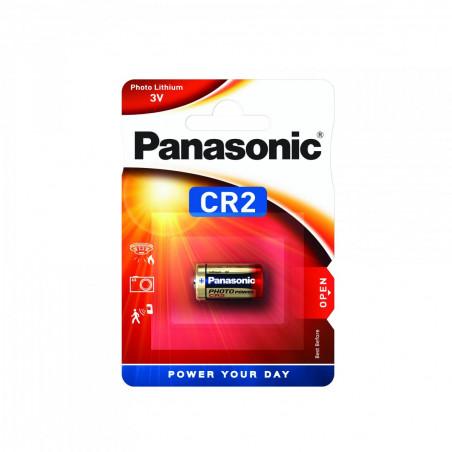 Pilha Panasonic Lítio Foto CR2 - 3V BL1