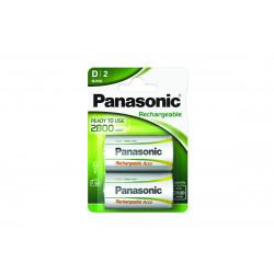 Pilha Panasonic recarregavel Prof. - R20  2800Mah BL1