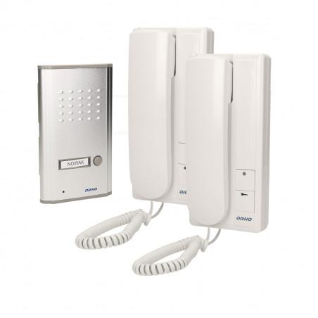 Audio Porteiro FOSSA INTERCOM ORNO - ( 2 xTelefone + campainha)