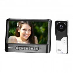 """Video Porteiro IMAGO ORNO - Preto ( 7"""" LCD, 16 toques, protecção chuva incluida)"""