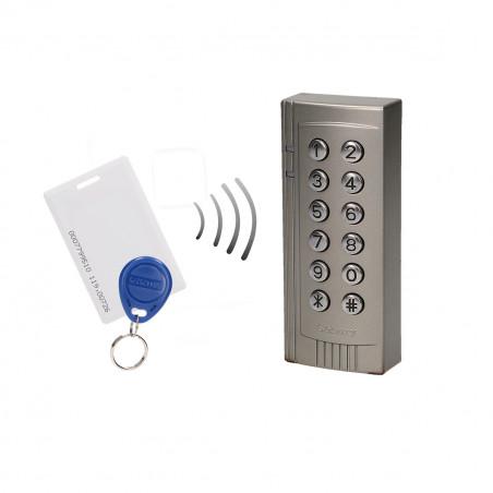 Controlo de acesso ORNO - IP20, RFID + Tag, 2000 PIN, 12V/DC Max 100mA