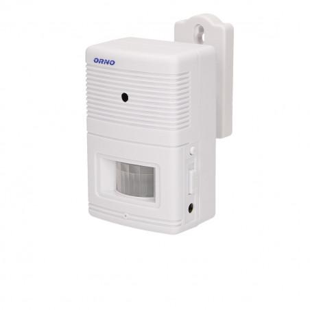 Sensor de Movimento e Alarme ORNO - 4x1.5V; Alcance: 4 - 5m