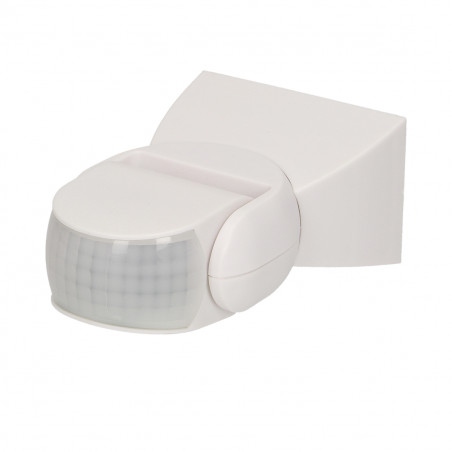 Sensor de Movimento ORNO - Branco 180º, PIR ajustavel, IP65