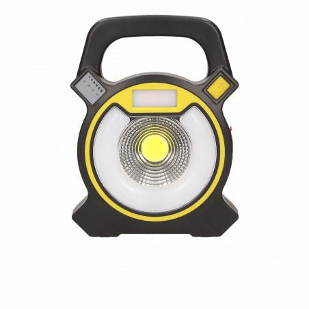 Lanterna Foco recarregavel GIOVIA ORNO -  5W, 1 x 5W COB, 12 x LED, 300lm