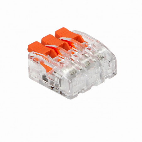 Ligador Splicing 3 fios ORNO - 10Pcs, 0,08-4mm