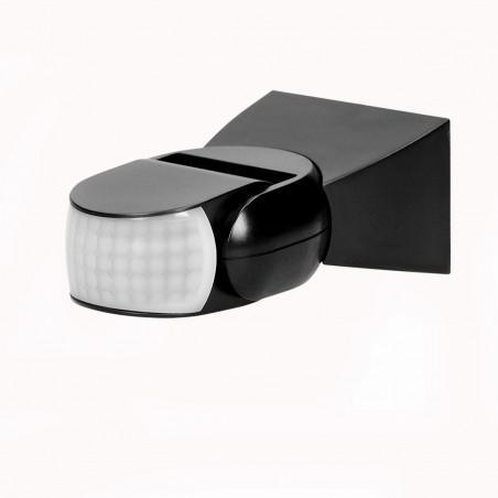 Sensor de Movimento ORNO - Preto 360º/180º, PIR ajustavel, IP65