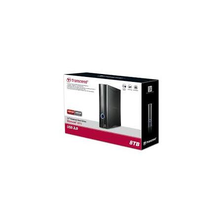 "Disco externo Transcend StoreJet Turbo 3,5"" USB 3.0 -  8 Tb"