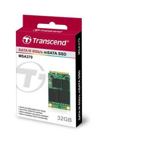 Disco Transcend SSD SATA III - 32 Gb
