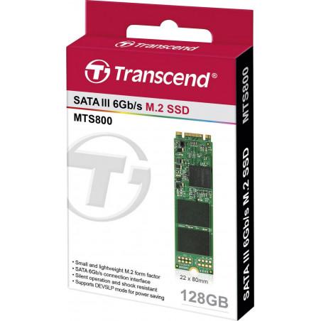 Disco Transcend SSD SATA III - 128 Gb