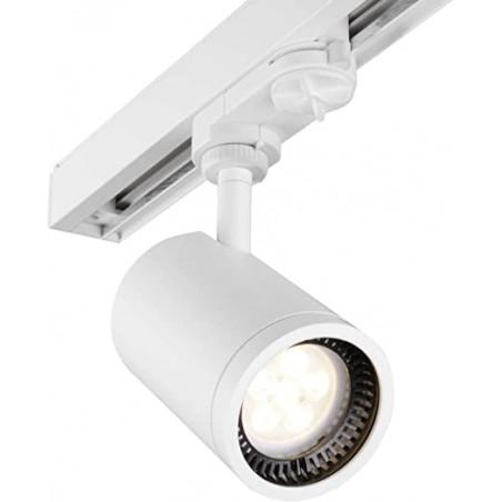 Luminária Toshiba LED Foco ACCENT Track - Prateada