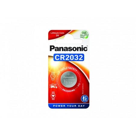 Pilha Panasonic Lítio Botão CR2032 BL1