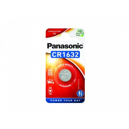 Pilha Panasonic Lítio Botão CR1632 BL1