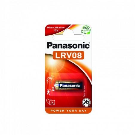 Pilha Panasonic Micro Alcalina LRV08 - 12V BL1