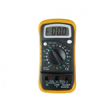 Multimetros - MAS830L