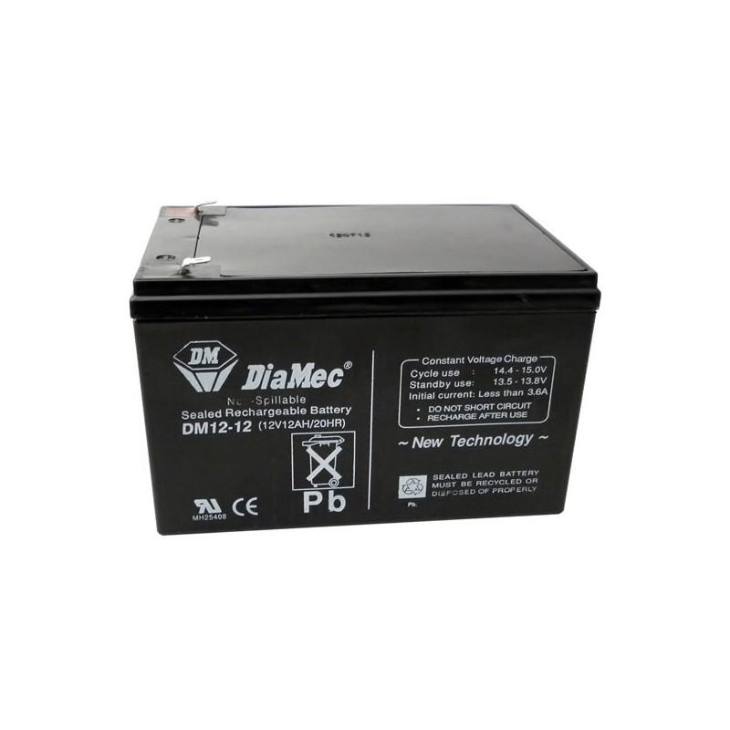 Bateria Diamec 12V 12Ah Terminal F1