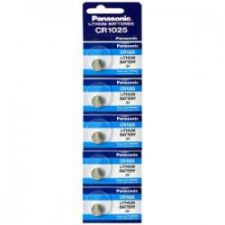 Pilha Panasonic Lítio Botão CR1025 - 30mAh