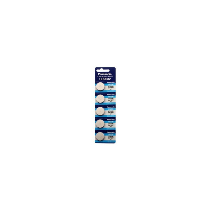 Pilha Panasonic Lítio Botão CR2032 - 220mAh